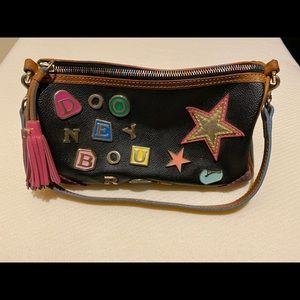 Authentic Dooney & Bourke Charm #2 Leather Sachel